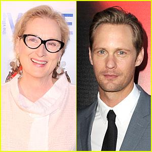 Meryl Streep & Alexander Skarsgard: 'The Giver' Co-Stars?
