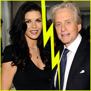 Catherine Zeta-Jones & Michael Douglas Separate