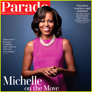 Michelle Obama Talks Her Famous Bangs, Turning 50 to 'Parade'