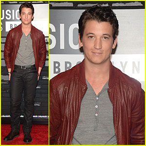 Miles Teller - MTV VMAs 2013 Red Carpet