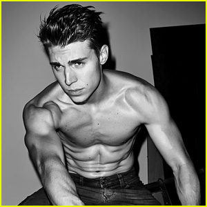 Nolan Gerard Funk Goes Shirtless for 'Flaunt' Feature