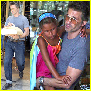 Olivier Martinez: Halle Berry B-Day Cake Shopping with Nahla!