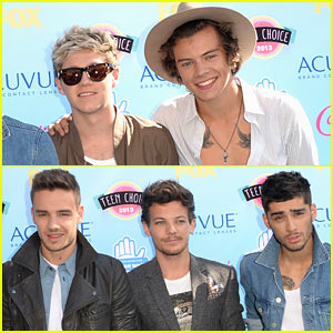 One Direction - Teen Choice Awards 2013 Red Carpet