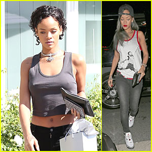Rihanna Debuts Short Hair After Topshop Court Case Win