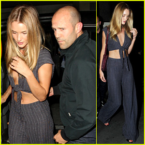 Rosie Huntington-Whiteley & Jason Statham: Cecconi's Couple!