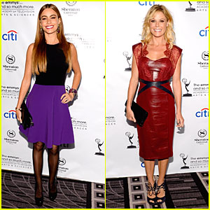 Sofia Vergara & Julie Bowen: Performers Peer Cocktail Reception!