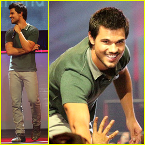 Taylor Lautner Promotes Bench Clothing in the Philippines