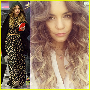 Vanessa Hudgens: 'Blonde Again' at LAX!