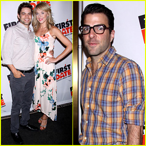 Zachary Quinto & Jeremy Jordan: 'First Date' Opening Night!