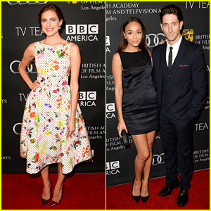 Allison Williams & Ashley Madekwe: BAFTA LA TV Tea Party!