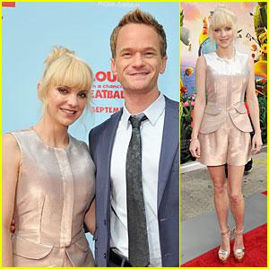 Anna Faris & Neil Patrick Harris: 'Cloudy...2' L.A. Premiere!