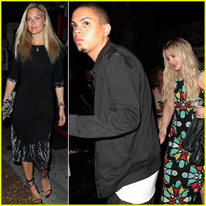 Bar Refaeli & Ashlee Simpson: Hooray Henry's Night Out!