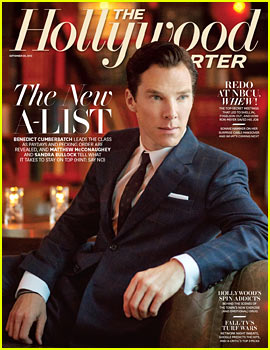Benedict Cumberbatch Covers THR's New A-List Issue!
