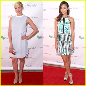 Brittany Snow & Jamie Chung: Splash Ladies!