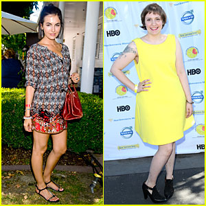 Camilla Belle & Lena Dunham: L.A. Loves Alex's Lemonade Event!