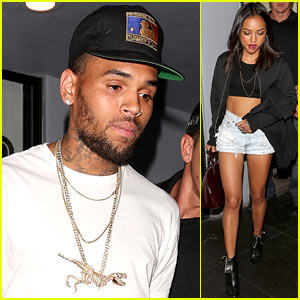 Chris Brown: Big Boy's Birthday Host with Karrueche Tran!