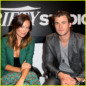 Chris Hemsworth & Olivia Wilde: Variety Studio at TIFF 2013!