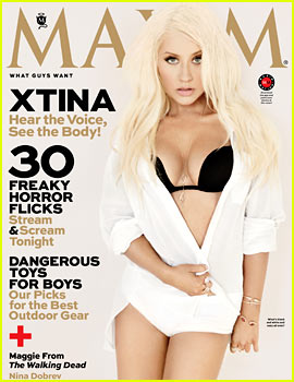 Christina Aguilera Covers 'Maxim' October 2013