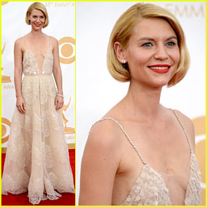 Claire Danes - Emmys 2013 Red Carpet