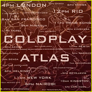 Coldplay's 'Hunger Games' Song 'Atlas' - Listen Now & Read Lyrics!