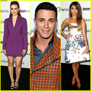 Colton Haynes & Holland Roden: Young Hollywood Party 2013!