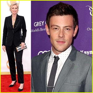 Cory Monteith Emmys Tribute: Remebered by Jane Lynch (Video)