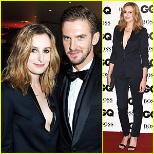 Dan Stevens & Laura Carmichael - GQ Men of the Year Awards 2013