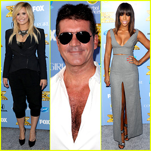 Demi Lovato & Simon Cowell: 'X Factor' Premiere Party!