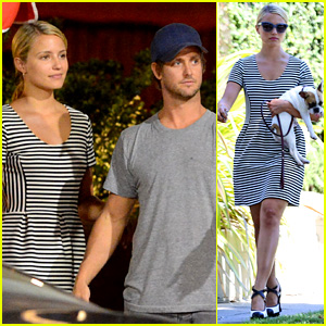 Dianna Agron Dines with Nick Mathers at His Restaurant!