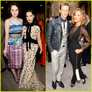 Dita Von Teese & Michelle Dockery: Vanity Fair Best Dressed!
