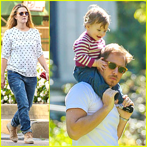 Drew Barrymore & Will Kopelman: Central Park Fun with Olive!