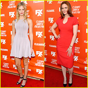 Erin Heatherton: 'The League' Season 5 Hollywood Premiere!