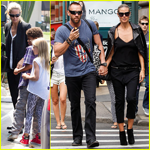 Heidi Klum & Martin Kirsten: SoHo Morning Stroll Couple