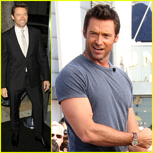 Hugh Jackman: 'Prisoners' Premiere & Talk Show Appearances!