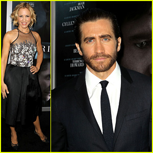 Jake Gyllenhaal & Maria Bello: 'Prisoners' Premiere!