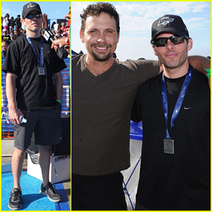 James Marsden & Jeremy Sisto: Nautica Malibu Triathlon 2013!