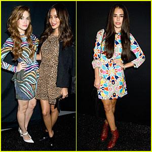 Jamie Chung & Holland Roden: Mara Hoffman Fashion Show!