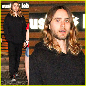 Jared Leto Stops for Fan Photo Op at Sushi Leblon Restaurant!