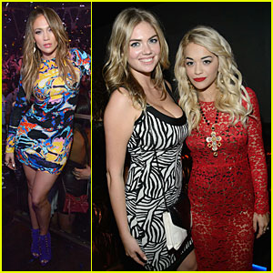 Jennifer Lopez & Kate Upton: Hakkasan Las Vegas Hotties!