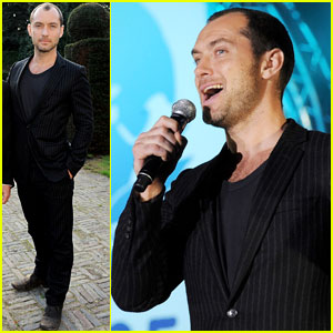 Jude Law: Peace One Day Concert 2013