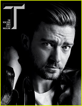 Justin Timberlake Covers 'T The New York Times Style Magazine'