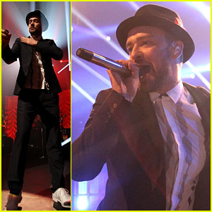 Justin Timberlake Performs at the iTunes Music Festival 2013