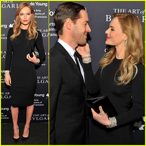 Kate Bosworth & Michael Polish: Bulgari Retrospective Opening!