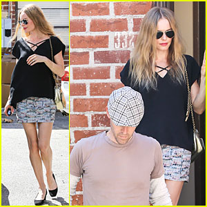 Kate Bosworth & Michael Polish: Newlyweds Visit Studio!