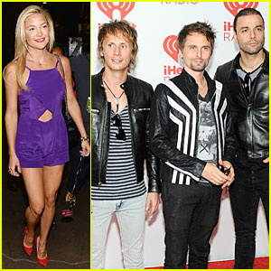 Kate Hudson Supports Matthew Bellamy at iHeartRadio Music Festival