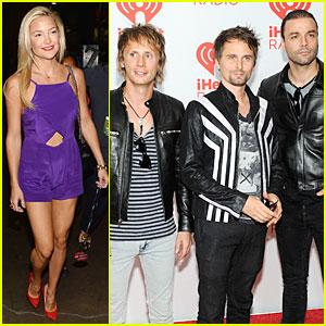 Kate Hudson Supports Matthew Kate Hudson And Matthew Bellamy Split