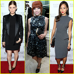Kate Mara & Carly Rae Jepsen: Badgley Mischka Store Opening!