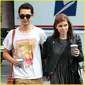 Kate Mara & Max Minghella Hold Hands on Coffee Date!