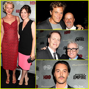 Kelly MacDonald & Michael Shannon: 'Boardwalk Empire' Premiere!