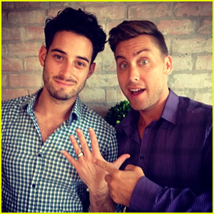 *NSYNC's Lance Bass: Engaged to Michael Turchin!
